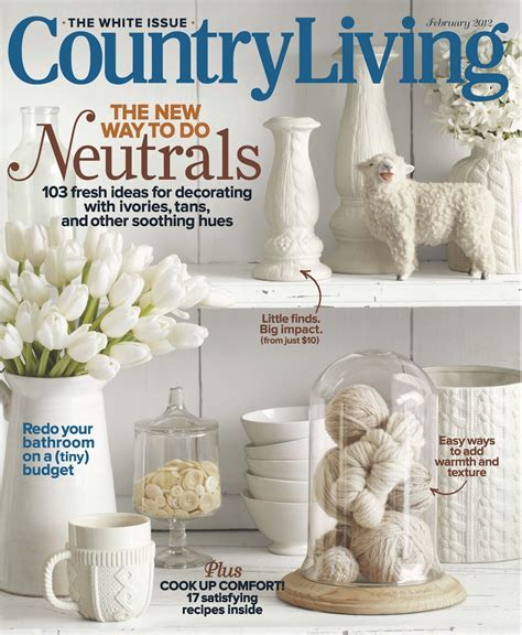 Country Living by Country Living Magazine Subscription Deal 1 Year For 4