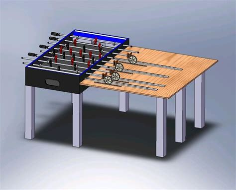 3 in one foosball table wooden pergola designs free woodworking tools mfg how to