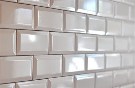 22 light grey subway white grout with decorative line beveled subway tiles pewter grout main bathroom shower