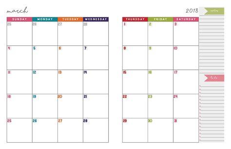 august template calendar design