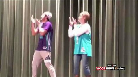 couch high school couch chat myers park high school goes viral wccb charlotte