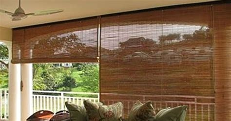 shades for outdoors outdoor bamboo blinds patio and
