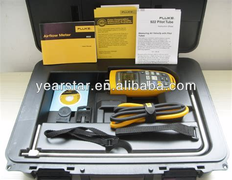 Fluke 922 Kit Airflow Meter Kit Micromanometer Micro Manometer fluke 922 kit airflow meter micromanometer buy fluke 922 kit airflow meter micromanometer