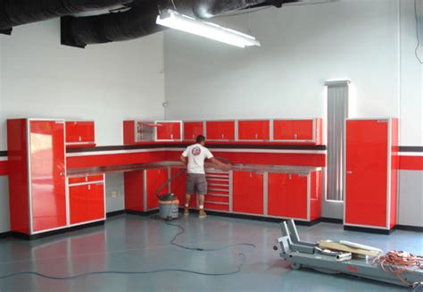 Garage Cabinets Moduline Moduline Customers Contemporary Garage And Shed By