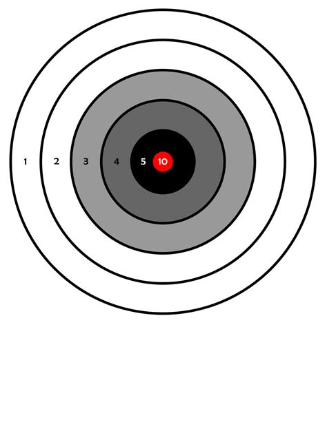 printable free rifle targets 411toys free printable airsoft targets including zombies
