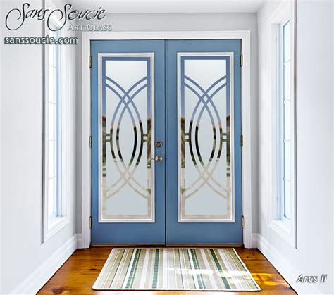 Custom Glass Door Frosted Glass Doors Sans Soucie Glass