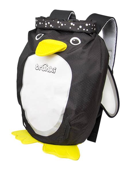 trunki paddlepak penguin medium trunki penguin paddlepak backpack medium 7 5 litre size