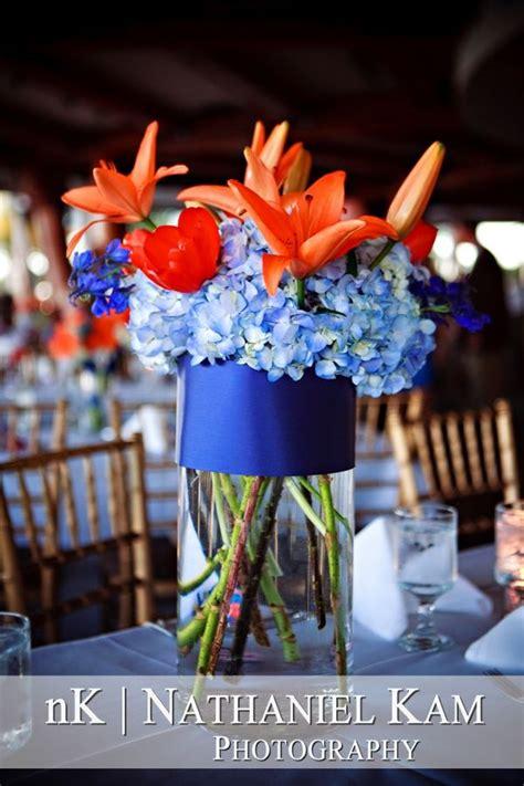 66 best blue orange wedding ideas images on pinterest