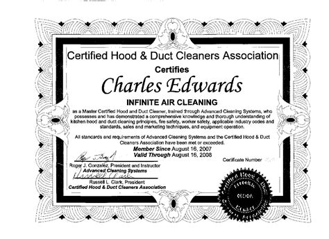Kitchen Exhaust Cleaning And Certification Manual Free Air Conditioning Vent Dryer Vent Cleaning Service