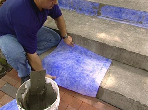 How to Give a Tile Facelift to an Ordinary Concrete Porch