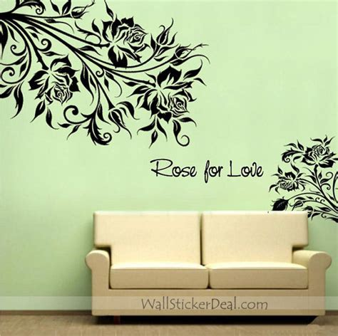 wall sticker images for flower wall stickers home decorating