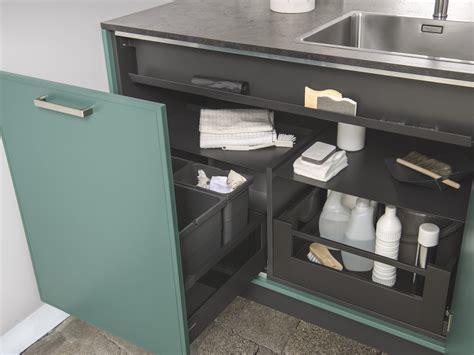 amenagement meuble sous evier les solutions de rangements pour votre cuisine sur mesure
