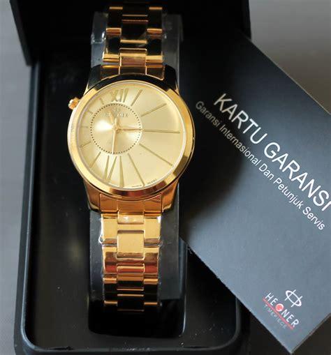 Hegner 1599 Gold White Jam Tangan Original hegner jam tangan hegner wanita pria garansi showroom resmi deals for only rp199 000