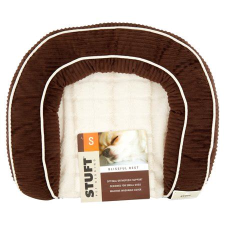Stuft Bed by Stuft Blissful Rest Bed Small Brown Walmart
