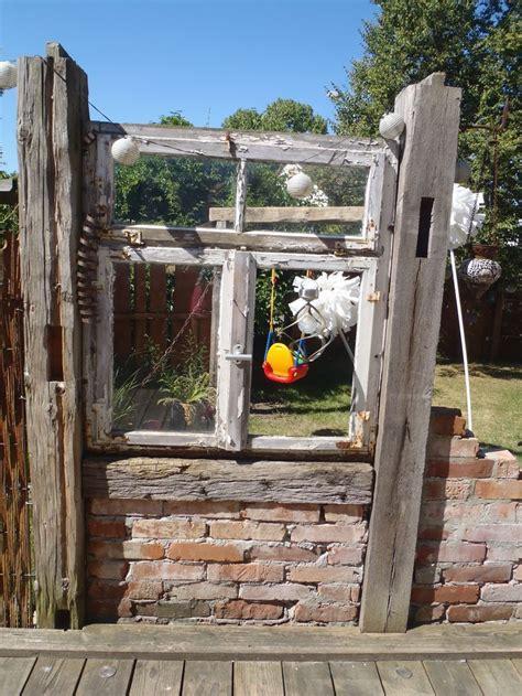Alte Balken Im Garten by Tolle Ideen F 252 R Modernen Wandschmuck Alte Fenster Liebe