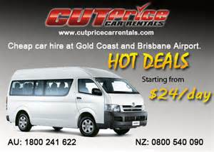 Car Rental Brisbane Airport Opening Hours Cut Price Car Rentals Brisbane Airport In Eagle Farm
