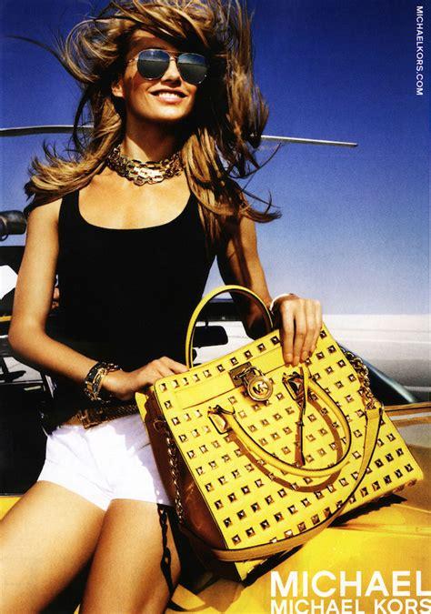 michael kors handbag ads on the new york times writer calls michael kors