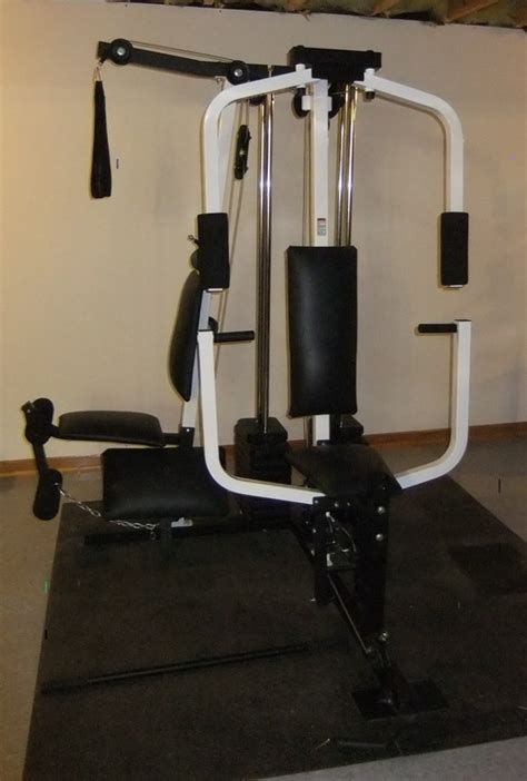 weider pro 9300 multi station home weight bench