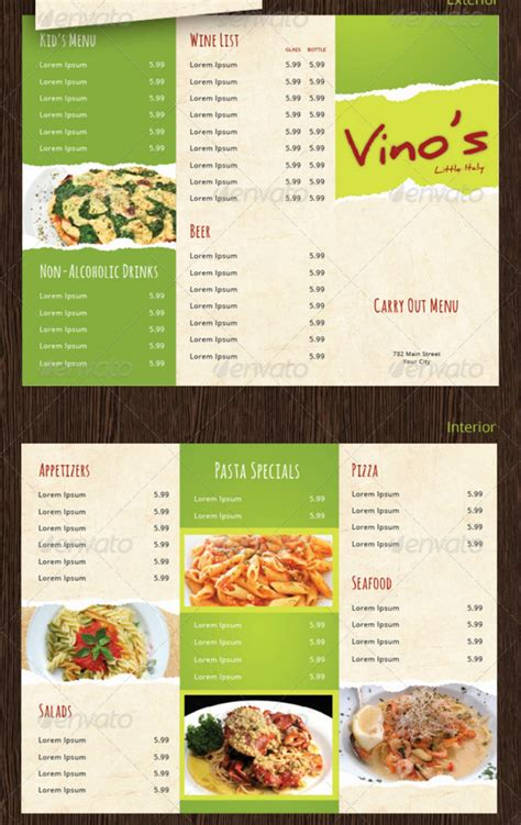 takeaway menu template 15 takeaway menu designs psd ai free premium templates