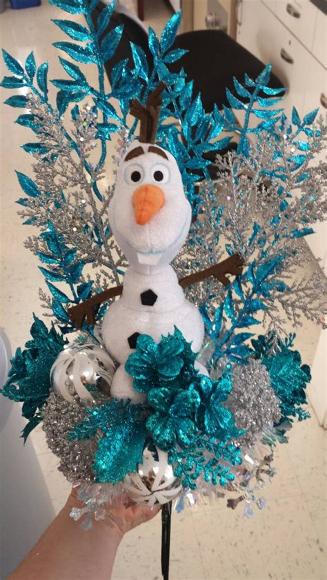 olaf tree frozen inspired olaf tree topper