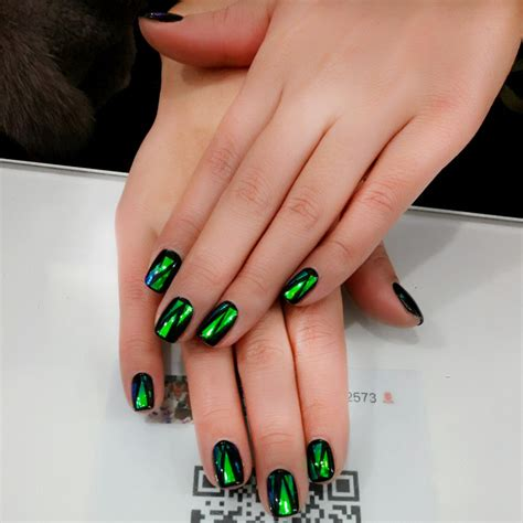 Handmade Nails For Sale - sale handmade nails 24pcs shattered emerald