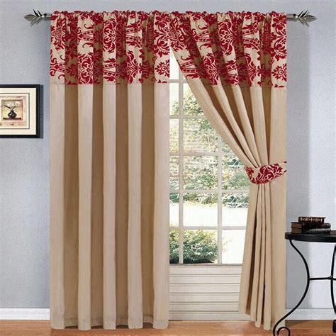 demask curtains luxury damask curtains pair of half flock pencil pleat