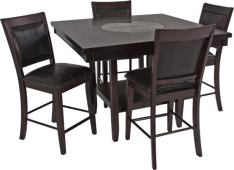 crown mark harrison counter height crown mark harrison 5 piece counter height dining set