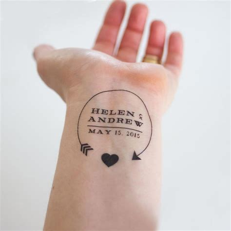 date tattoo save the date cards unique save the date ideas you ll
