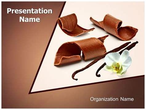 Chocolate Vanilla Powerpoint Template Background Subscriptiontemplates Com Chocolate Powerpoint Template
