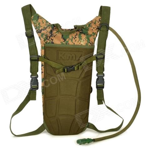 New Leisure Backpack Oxford Cloth Waterproof Army Green Intl Lzd kevlar outdoor tactical multifunction oxford cloth water bag storage backpack army green 2 5l