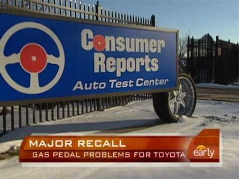 Toyota Gas Pedal Recall Toyota Recalls Gas Pedals