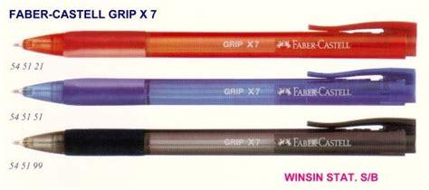 Pen Paper Sdi Pencil Knife 0103 kedai alatulis faber castell grip x7 pen 0 7 l v gel ink fa 5451