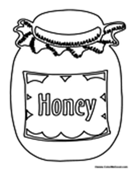 Honey Colouring Pages Honey Coloring Page