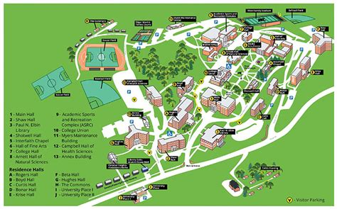 liberty university cus map directions and map admissions office