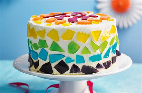 decoration of cake at home stained glass cake recipe goodtoknow