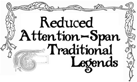 attention span mp3 download reduced attention span traditional legends