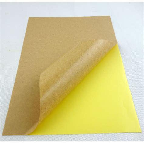Perekat Lem Laser Magic a4 kraft kertas label pencetakan stiker untuk laser inkjet permanen perekat lem yang kuat buy