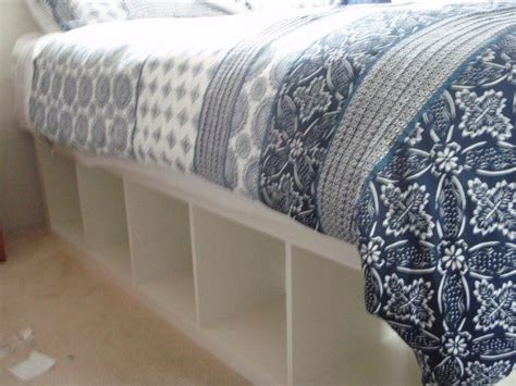 Bookshelf Bed Frame Diy Build An Inexpensive Bed With Storage Using Bookcases Diy Projects For Everyone