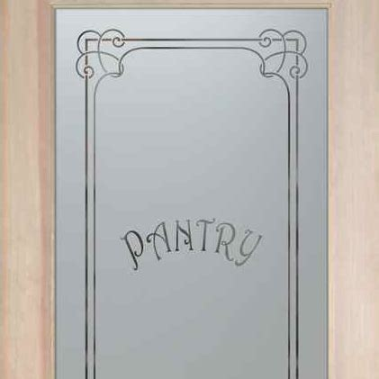 etched pantry doors sans soucie glass