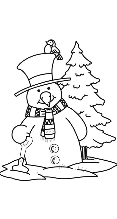 coloring pages with snowman snowman coloring pages coloring pages to print