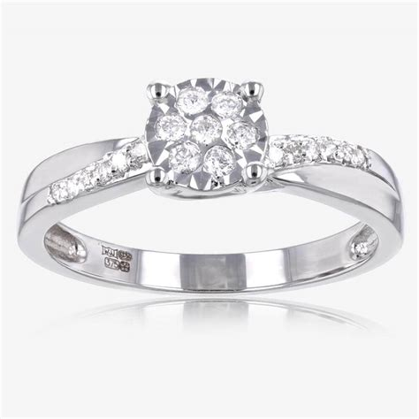 white gold rings uk wedding promise