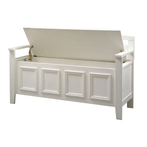 living room bench with storage linon laredo storage bench white living room benche ebay