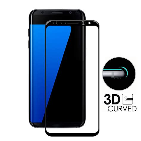 Tempered Glass Samsung Galaxy A7 2017 Curved Edge 9h aliexpress buy gxe 3d curved screen cover tempered glass for samsung galaxy s8 plus
