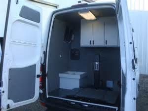 sprinter mobile office lab work shop expediter cargo