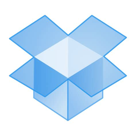 dropbox free dropbox icon free social media icons softicons com