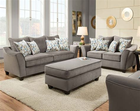 25  best ideas about Grey sofa set on Pinterest   Living room sofa sets, Chesterfield sofas and