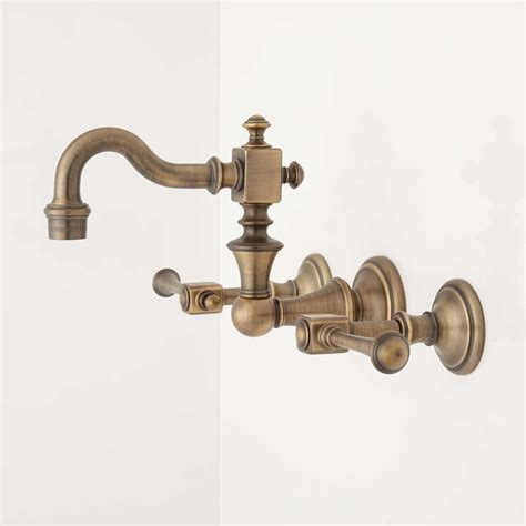 antique brass kitchen faucet antique brass faucet moen