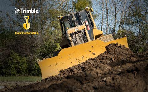 earthworks grade control platform trimble civil