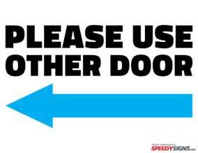 office door signs templates free use other door left arrow printable sign