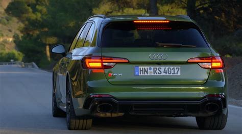Sonoma Green 2018 Audi RS4 Avant Looks as Good as the RS5 autoevolution